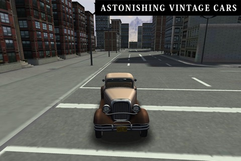 Classic Cars 3D Parking screenshot 2
