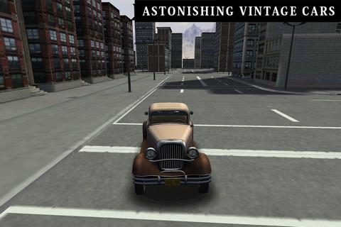 Classic Cars 3D Parking screenshot 2