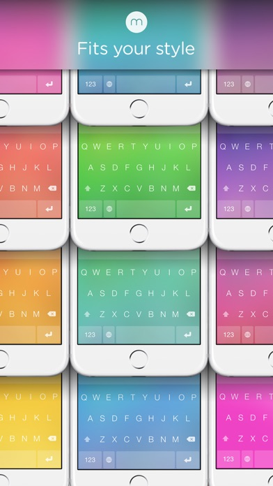 Screenshot for Minuum - The Little Keyboard for Big Fingers in South Africa App Store
