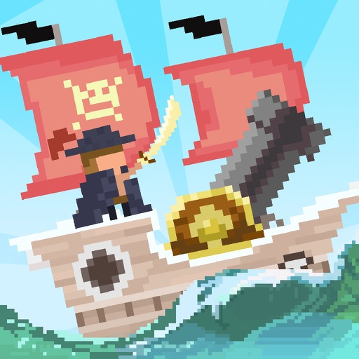King of the sea - Steal Pirate's Coins iOS App