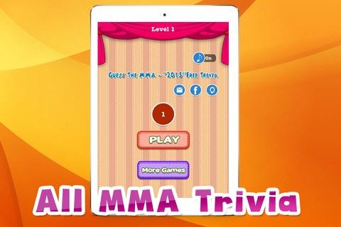"""2015'' Free Trivia -Guess The MMA screenshot 1"