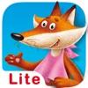 Märchen für Kinder: Fuchs und Kranich. Lite
