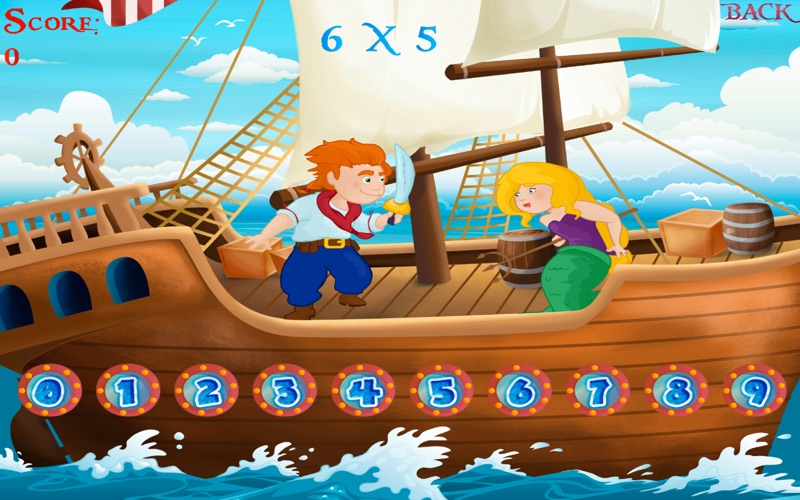 learn times tables pirate sword fight lite version app download android apk. Black Bedroom Furniture Sets. Home Design Ideas