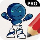 Robots Coloring Book Pro icon