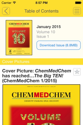 ChemMedChem screenshot 3