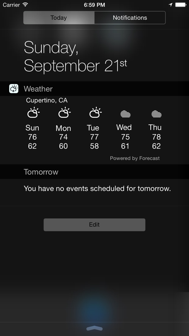 Weather Forecast Widget screenshot1