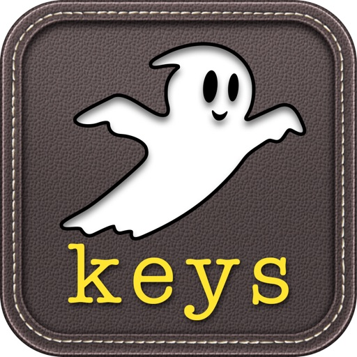 Ghost Keys Keyboard - Typing Tutor