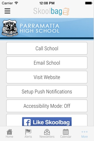 Parramatta High School - Skoolbag screenshot 4
