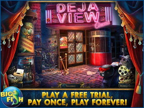 Surface: Reel Life HD - A Supernatural Hidden Object Mystery screenshot 1