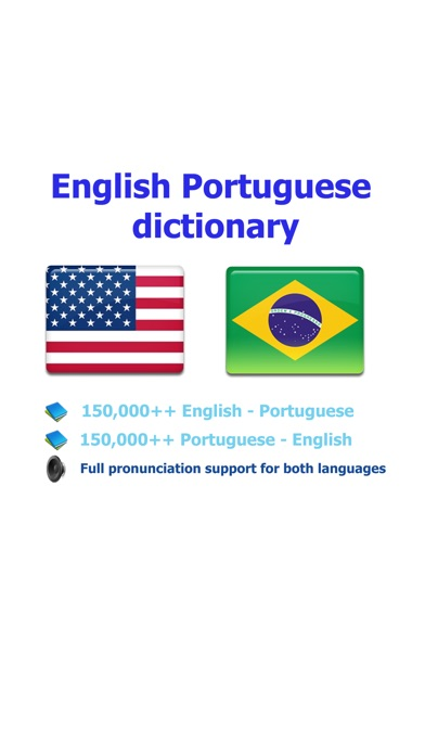 Portuguese English best dictionary on the App Store