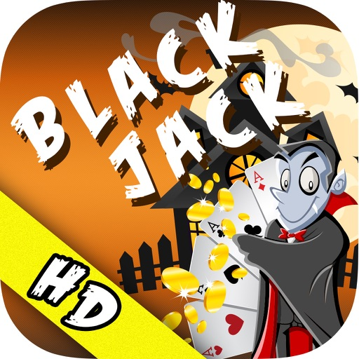 Halloween Blackjack HD - Trick or Treat Casino Mania Icon