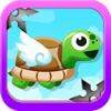 Amazing Turtle Mega Jump - Don't Touch The Ninja Stars