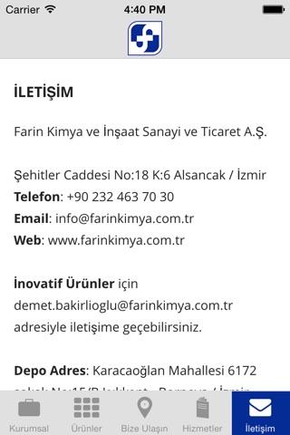 Farin Kimya screenshot 2