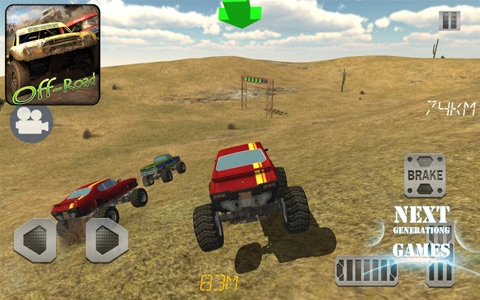 4x4 Off Road : Race With Gate screenshot 2