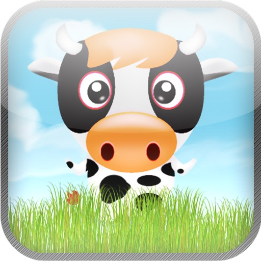 Happy Cow Tipping Game iOS App