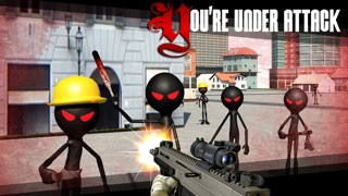Screenshot #3 pour Stickman Shooter 3D