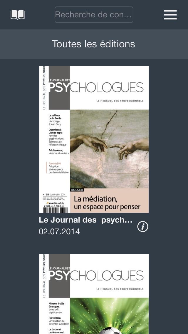 JournalDPsyCapture d'écran de 1