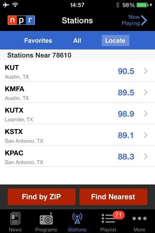 NPR News screenshot 2