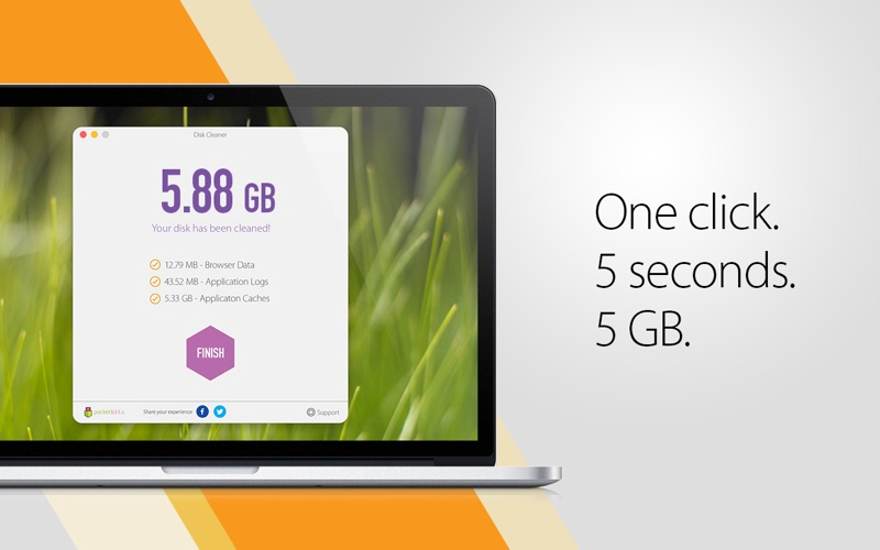 Screenshot #4 for Disk Cleaner - Free Your Hard Drive Space