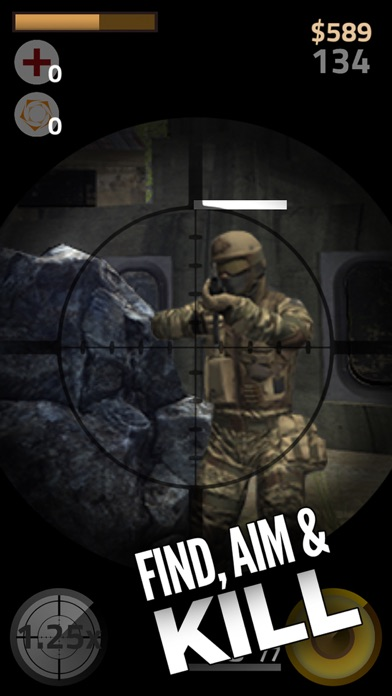 Contract Sniper Killer - Trigger guns and shoot to kill army assassin shooter screenshot one
