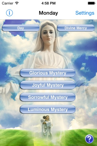 Holy Rosary Deluxe Version screenshot 1