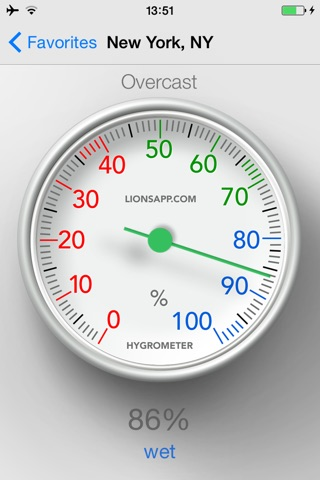 Hygrometer - Check humidity screenshot 1