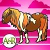 Ponys and Pferde-Aktivitäten für Kinder : Puzzle, Ausmalen...