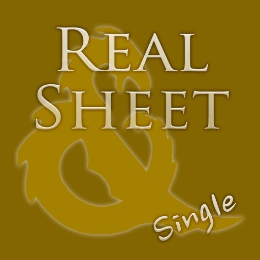 Real Sheet: D&D 4th Edition + Dice Table iOS App