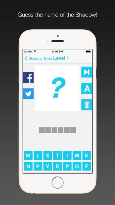 Shadow Trivia - Guess the Shadows screenshot one