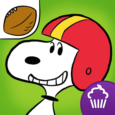 Snoopy's All Star Football app review: it's Snoopy and the gang