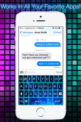 Glow Keyboard - Customize & Theme Your Keyboards screenshot 2