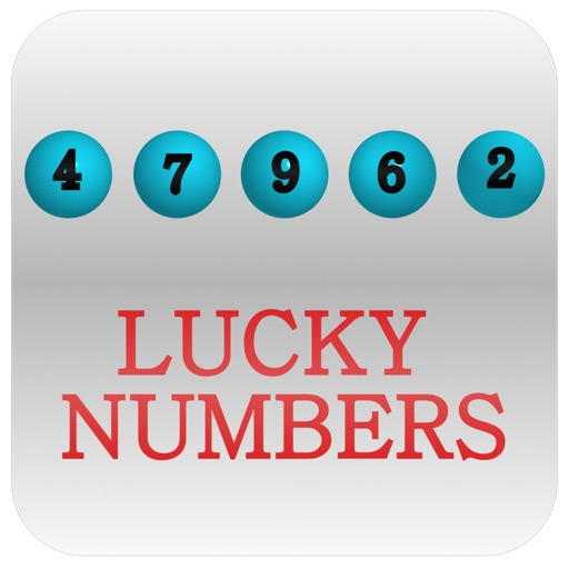 Lucky Lottery Numbers iOS App