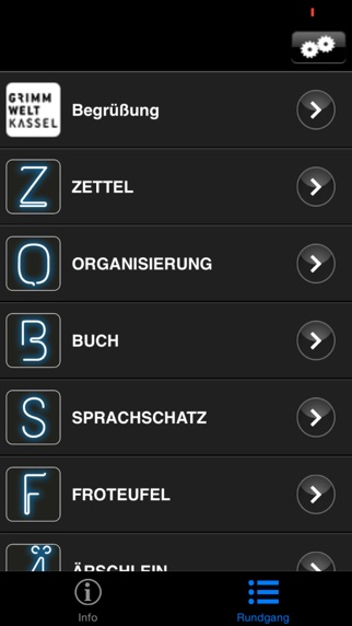 GRIMMWELT Kassel Screenshot