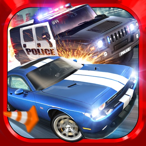 police chase traffic race gratuit jeux de voiture de course par aidem media sp z o o. Black Bedroom Furniture Sets. Home Design Ideas