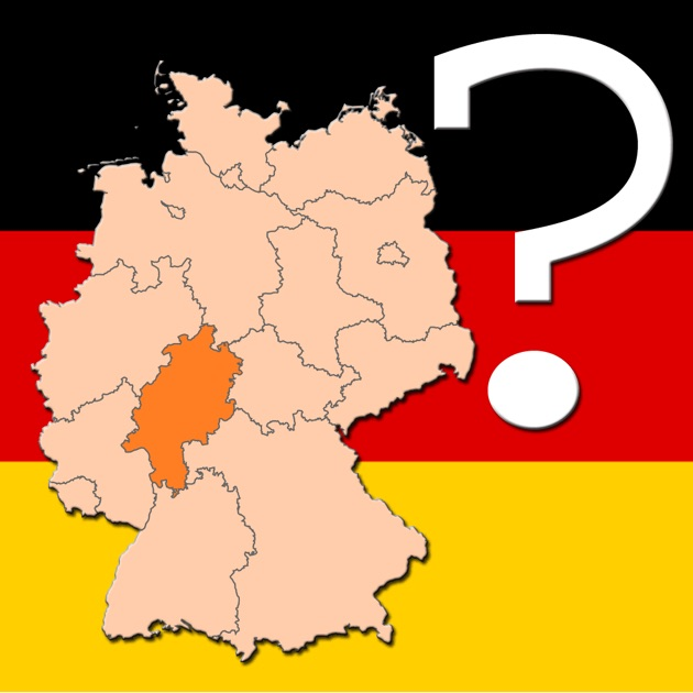 Germany Map Quiz On The App Store - Germany map quiz