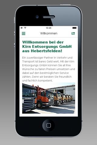 Kirn Entsorgungs GmbH screenshot 2