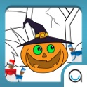Tiny Artist Coloring Shapes Halloween Theme FREE icon