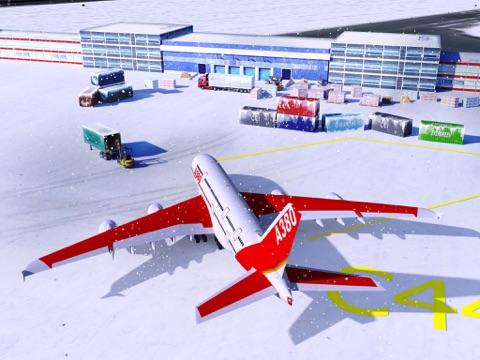 Screenshot #4 pour Snow Cargo Jet Landing 3D