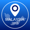 Malaysia Offline Map + City Guide Navigator, Attractions and Transports