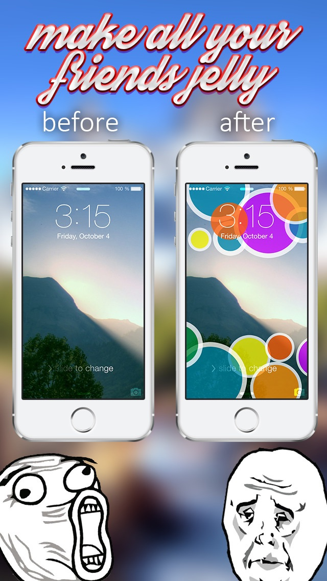 Download iLocks Pro - Custom Lock Screen Backgrounds Designer App