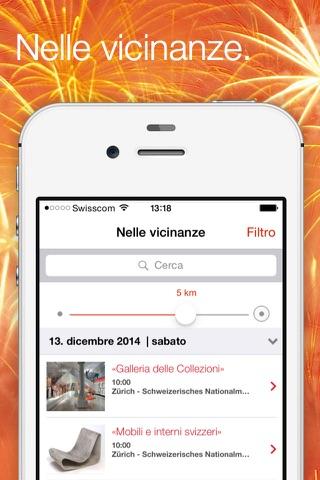 Swiss Events – the official event calendar from MySwitzerland.com screenshot 1