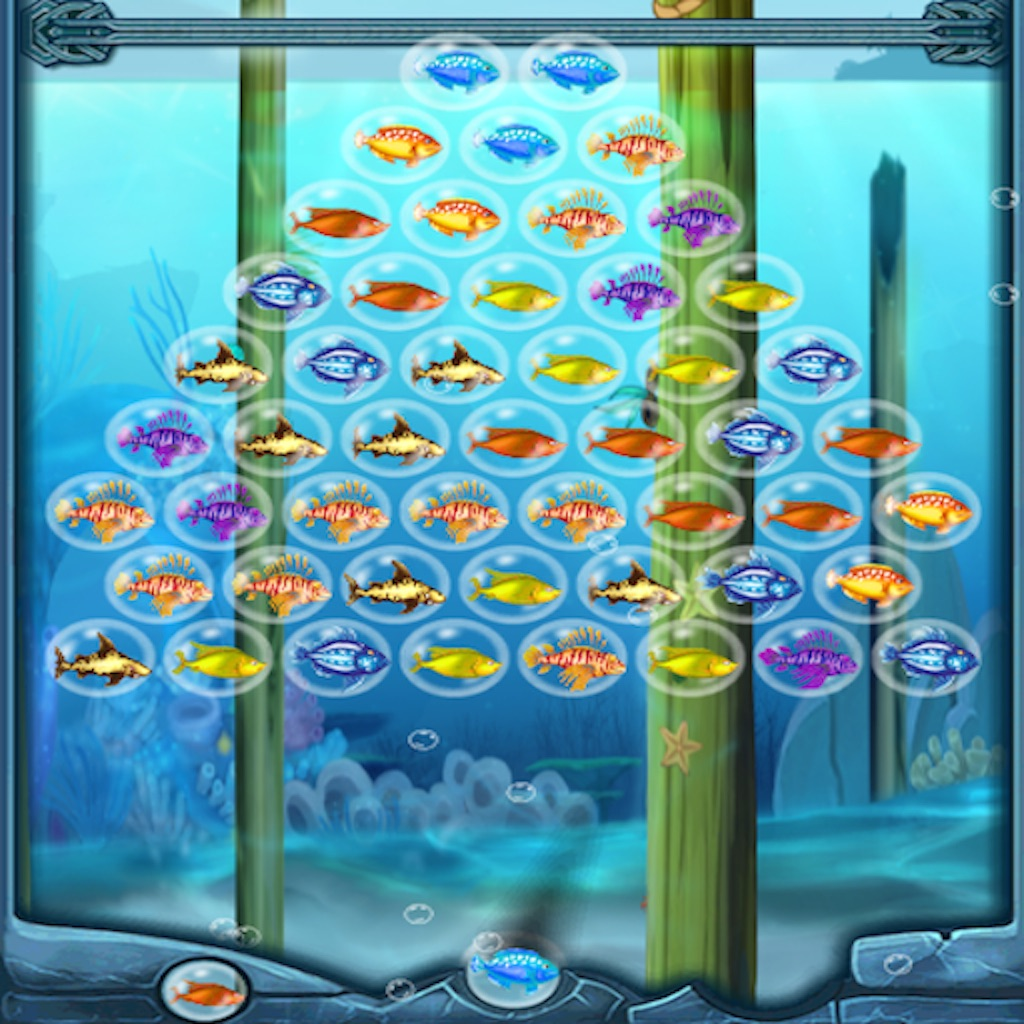 Bubble shoot fish on the app store for 1 fish 2 fish store