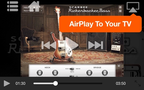 AV for Scarbee Rickenbacker Bass screenshot 2