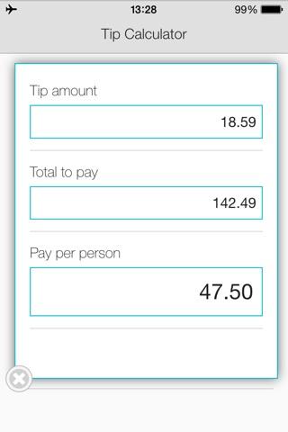 Tip Calculator App for FREE screenshot 2