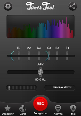 Tuner Tool, Guitar Tuning Made Easy screenshot 1