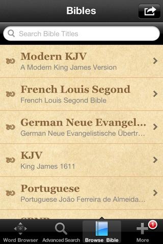 Hebrew Bible Dictionary screenshot 3