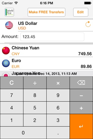 My Currency PRO screenshot 3
