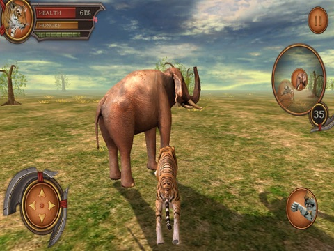 Tiger Adventure 3D Simulator Pro на iPad