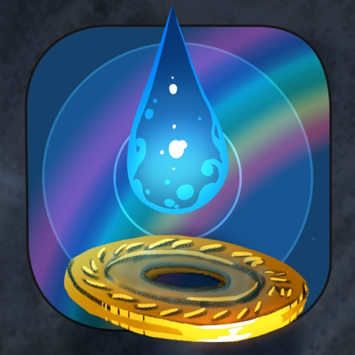 Raindrop - A Music Game of Procedurally Generated Songs and Relaxing Reflex Training iOS App