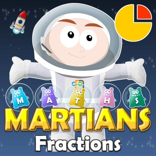 Maths Martians HD: Fractions